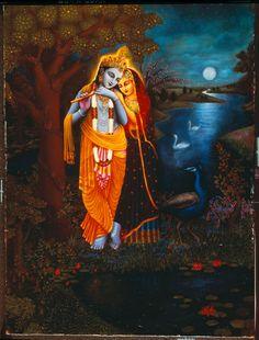 Radha Krishna Songs, Radha Krishna Photo, Krishna Photos, Krishna Art, Radhe Krishna, Little Krishna, Cute Krishna, Lord Shiva Painting, Krishna Painting