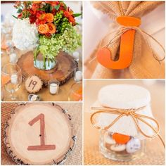 Country wedding from
