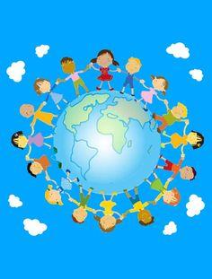 Prent -  wereld Multi Cultural Crafts For Kids, Kingdom Of The Netherlands, Turkey Holidays, Kindergarten, Preschool Education, World Globes, National Holidays, In Ancient Times, Toddler Preschool