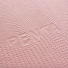 Blind letterpress on Candy Pink for Design by 👊 Pattern Design, Print Design, Graphic Design, Branding, Brand Identity, Corporate Identity, Visual Identity, Print Finishes, Print Packaging