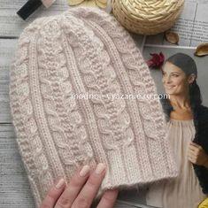 Стильные шапочки связанные спицами для девушек - Klubok - Modnoe Vyazanie.ru.com Crochet Beanie Hat, Crochet Cap, Scarf Hat, Beanie Hats, Knit Baby Sweaters, Knitted Gloves, Womens Fashion Online, Hats For Women, Baby Knitting