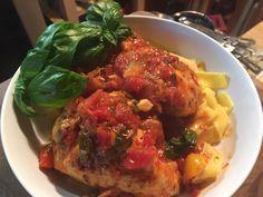 Chicken Cacciatore lindalouhamel.com