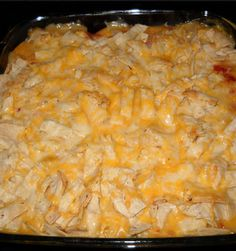 Food recipes: Chicken Tortilla Bake
