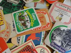 JOB  LOT  OF Vintage Beer Mats Coasters British John Smiths Burtons Guiness