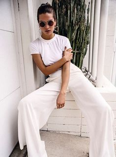 20+ All White Head-to-toe Summer Outfits You Have To Try This Vacation – Lupsona