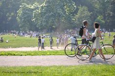 "Brooklyn's Prospect Park, designed by Frederick Olmstead, is home to the ""picnicker's mile""—one of the longest city park meadows nationwide."