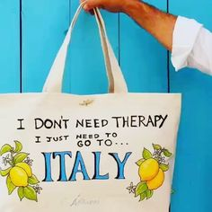 Forget therapy😟Stay home though😷 Always dream of Italy🇮🇹 & let us deliver Italy to you. Details on ItalyMammaMia.com/summer-in-italy.html #ItalyMammaMia #MioMyItaly #stayhome #dreamofitaly #overcomefear #anxiety #don'tneedtherapy #justitaly #italy #moreitaly #and #feelgood #thissummer #smile #andràtuttobene #madeinitalybags Italian Summer, Mamma Mia, Italian Fashion, Feel Good, Joy, Dreams, Tote Bag, Anxiety, Forget
