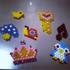 You can use Aquabeads to make everything from crows to keys! #Aquabeads