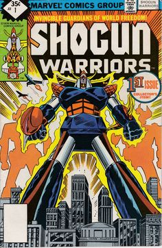Shogun Warriors 1 February 1979 Issue  Marvel by ViewObscura