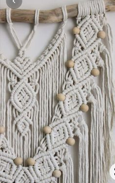 Macrame Wall Hanging Patterns, Macrame Art, Macrame Patterns, Home Decor Christmas Gifts, Paracord, Wall Hangings, Tassel Necklace, Tassels, Sewing
