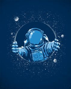 Image result for astronaut art