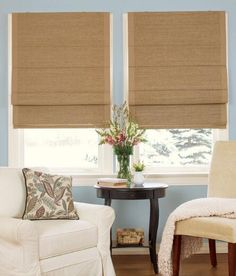 Thermal Woven Cordless Roman Shade - Bordered