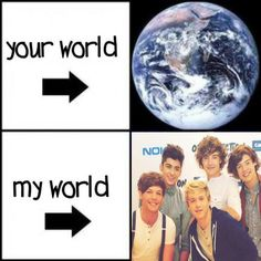 Your world my world one direction ♥ ♥ ♥ ♥ ♥ ♥ ♥