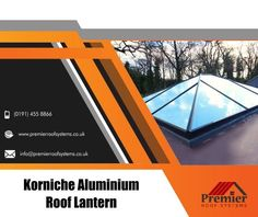 Let the light in with a stunning Korniche Roof Lantern from Premier Roof Systems. Our Korniche roof lantern has been optimized to create the strongest and stiffest roof lantern possible with minimal structure to obscure your view.  If you require any further information, then please do feel free to contact us at +01914558866 #korniche #FlatRoof #skylights #glassRoof #Rooflights #roofWindow #conservatory #HomeImprovement #renovations