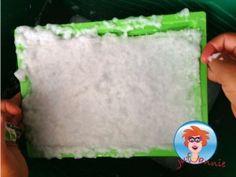 Papier maken van oud papier (recyclen) – knutselen met kinderen - Juf Jannie