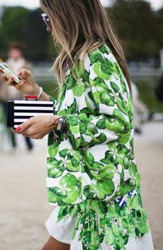 Limonada Street Style! Italian fashionista Erica Pelosini in Isolda