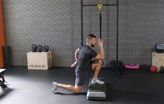 The Elevated Lunge Series