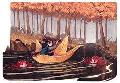 Down the River on Behance
