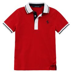 Polo Shirt Branded - Ralph Lauren Logo - In red color