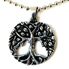 Norse Magic Wicca Pagan Celtic Pendant in Silver Tree of Life Pewter (With 23 Inches Silver Ball Chain). Celtic Tree of Life Pewter Pendant in Silver. Made from Lead Free Pewter. Measurement: Height 2.5 Centimeters Width: 2.5 Centimeters (For size reference of the pendant, Please view the picture which has 1 cent US coin next to it to compare). Comes with silver metal ball chain (23 inches long). NEW ORIGINAL by OhDeal4U. Please be aware that OhDeal4U product is sold by OhDeal4U only. If…