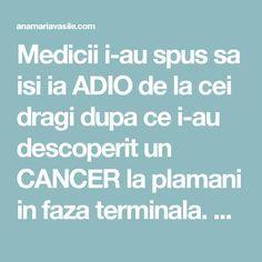 Medicii i-au spus sa isi ia ADIO de la cei dragi dupa ce i-au descoperit un CANCER la plamani in faza terminala. La un an de zile au avut un soc