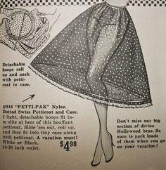 Saiote ou anágua para armar os nossos vestidos Anos 50
