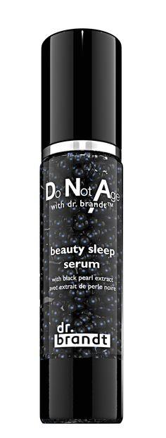 Do Not Age, beauty sleep serum - Dr brandt, USA. Technologie DuoPearl™ de Capsum