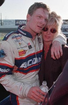 Dale Jr and his Mom Brenda