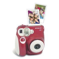 Polaroid Instant Camera. Looks like fun!