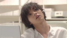 "[GIF} Kento Yamazaki, L from Ep.3, J drama series ""Death Note"", 07/19/'15"