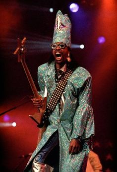 Bootsy Collins, The Hague, 1998