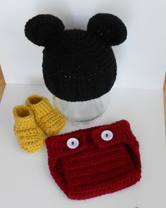 Crochet Baby Mickey Mouse-G's costume?