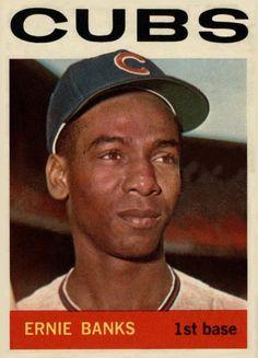 1964 Topps Ernie Banks