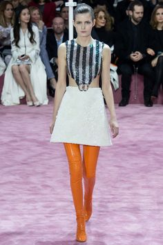 Christian Dior Spring 2015 Couture Fashion Show - Zlata Mangafic