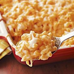 Four Cheese Macaroni and Cheese from Diabetic Living Online.  You'll never guess the secret ingredient.