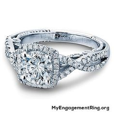 white gold engagement ring - My Engagement Ring