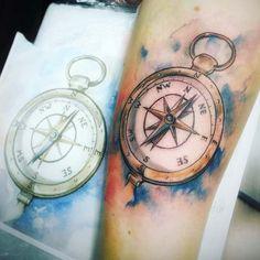 compass-tattoo-design9.jpg (635×636)