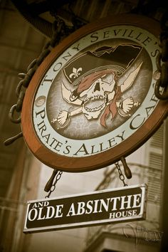 Tony Seville's Pirate's Alley Cafe and Olde Absinthe House, New Orleans, LA