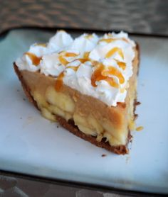 Caramel Banana Cream Pie | Baking Bites This isn't your grandmother's Banana Cream Pie recipe!