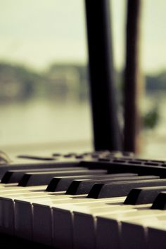 The beauty of a piano