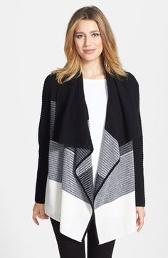 Nordstrom Collection Dégradé Cashmere Open Front Cardigan available at #Nordstrom
