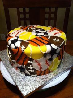 sports cakes   Sports Balls Cake I wish I had this kind of talent!!
