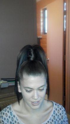Photo Shoot Prep...Hair by Fawn & Audi