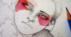 Elia Fernandez fashion illustration