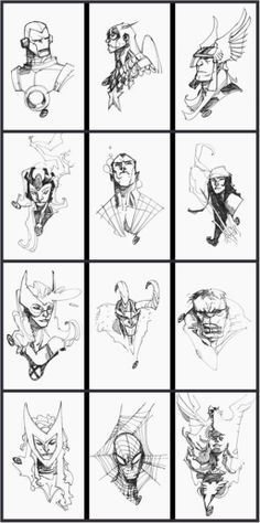 Marvel Comics ~ by Eric Canete