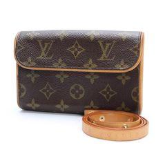 Louis Vuitton Florentine Monogram Other Brown Canvas M51855