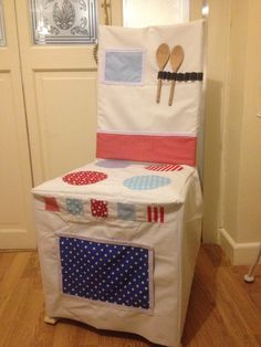 Handmade Play cooker chair cover for children ❤️
