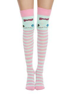 Disney Lilo & Stitch Stripe Scrump Over-The-Knee Socks,