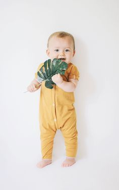 Unisex Handmade Baby Jumpsuit | AnchoreDeep on Etsy