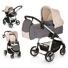 10-teiliges Kinderwagenset. Ein Allrounder für die Stadt und unbefestigte Wege. Ab Geburt bis ins Kleinkindalter nutzbar.